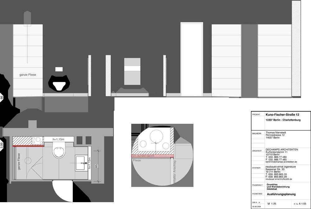 Kuno Fischer Strasse 12 Dechamps Architekten